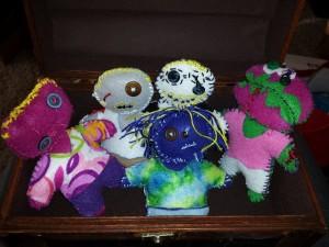 Zombie Doll Family